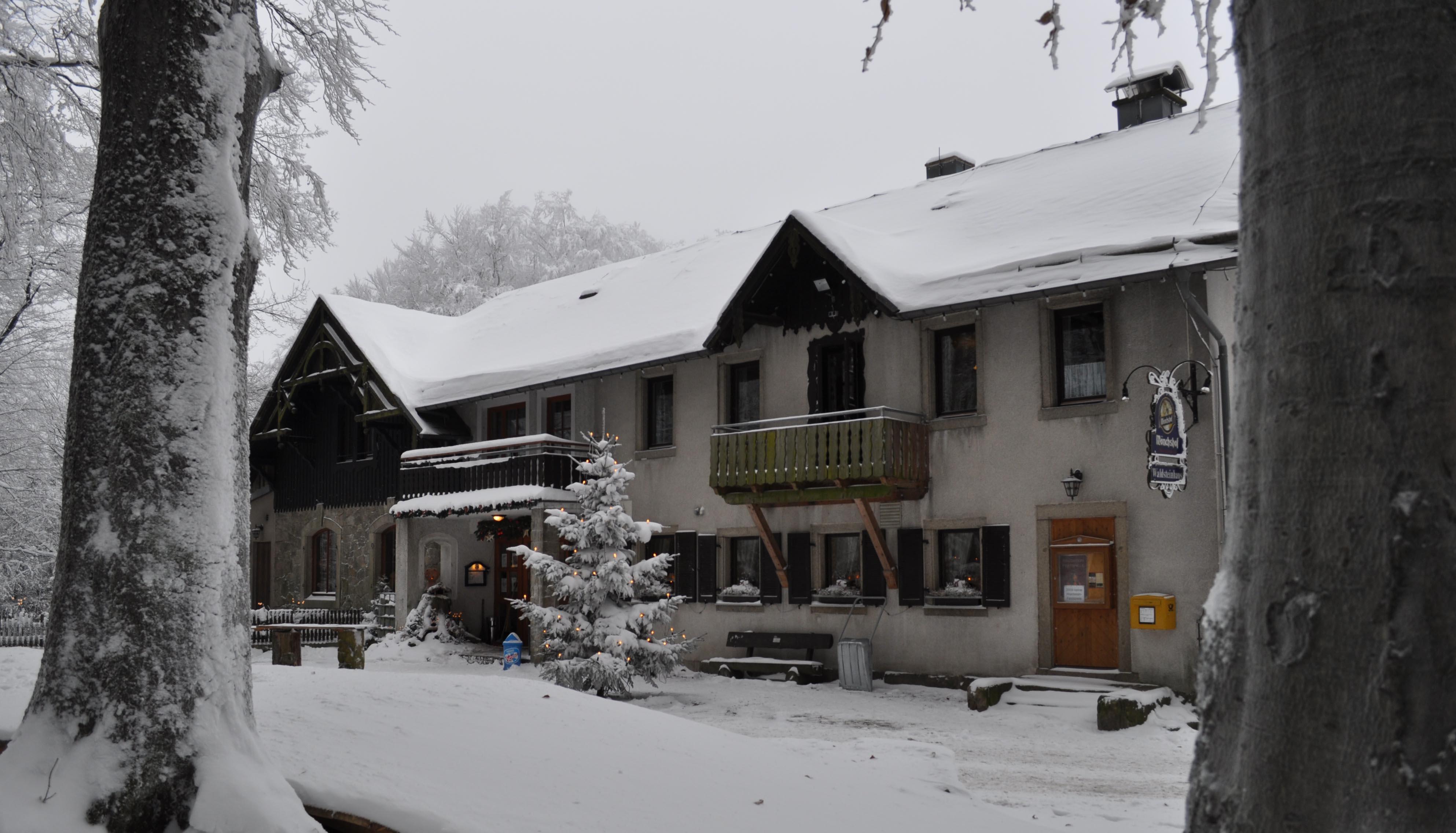 Waldsteinhaus im Winter